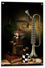 Still-life With The Trumpet, Acrylic Print