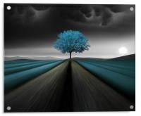A color is as strong as the impression it creates , Acrylic Print
