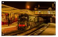 34092 'City of Wells' at Keighley, Acrylic Print