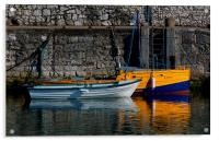 Carnlough Harbour, Acrylic Print