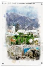 Nerja, Andalusia , Acrylic Print