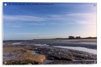 Brancaster Beach at low tide, Acrylic Print