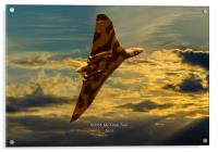 XH558 The Final Tour 2015, Acrylic Print