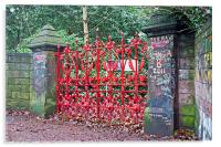 """""""The Beatles"""" heritage trail, Strawberry Field Gat, Acrylic Print"""