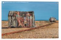 The old net shed, Acrylic Print