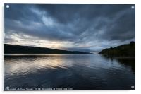 Last light over Loch Ness, Acrylic Print