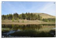 Loch Lubnaig in the Highlands of Scotland, Acrylic Print