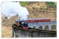 Jacobite steam Train, Acrylic Print