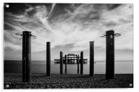 The Old Pier , Acrylic Print
