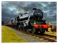 44871 Stainer class black 5 train, Acrylic Print