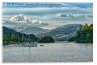 Bowness on windermere, Acrylic Print