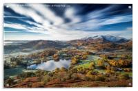 Loughrigg timeless. Lake District., Acrylic Print
