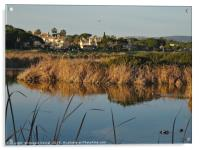 End of the day in Quinta do Lago, Acrylic Print