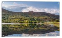 Loch Carrie Reflections, Acrylic Print
