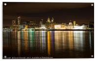 Liverpool Waterfront , Acrylic Print