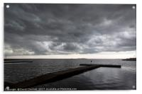 Wirral Storm, Acrylic Print