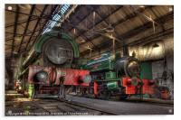 Tanfield Engine Shed, Acrylic Print