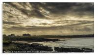 Storm Clouds over Fistral, Acrylic Print