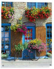 Colourful Boutique,France., Acrylic Print