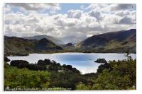 Derwentwater and the Borrowdale Valley, Acrylic Print