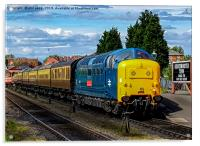 55019 Royal Highland Fusilier at Kidderminster SVR, Acrylic Print