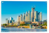 Modern Buildings, Puerto Madero, Buenos Aires, Acrylic Print