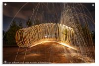 The Slinky, Acrylic Print