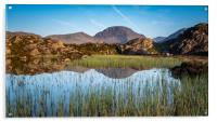 Reflections of Great Gable, Acrylic Print