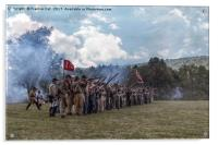 Confederate Soldiers , Acrylic Print