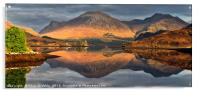 Loch Long Reflections, Acrylic Print