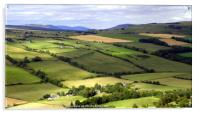 View from Knockfarrel Iron Age hillfort, Acrylic Print