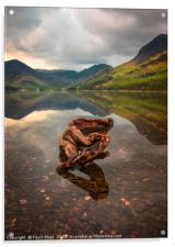 Buttermere lake, Acrylic Print