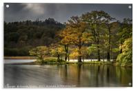 Rydal Water in Autumn, Acrylic Print