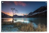 Buttermere Sunrise, lake district., Acrylic Print