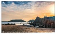 Marloes Sands, Pembrokeshire, Acrylic Print