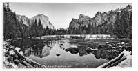 Dramatic view of Yosemite Valley., Acrylic Print
