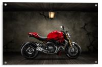 Ducati Monster 696 Old Room, Acrylic Print