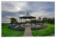 Filey Bandstand, Acrylic Print