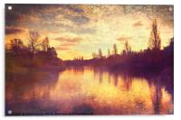 The Serpentine, Acrylic Print