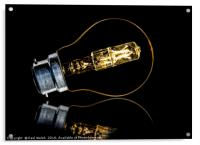 Light Bulb Without Wires, Acrylic Print