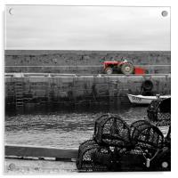 The Tractor, Acrylic Print