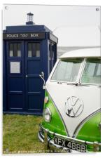 Time Lord Transport, Acrylic Print