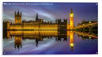 The Palace of Westminster, Acrylic Print