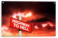 Highway to hell , Acrylic Print