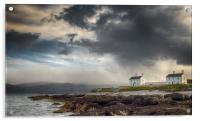 Stormy Sky at Penmon Point, Anglesey., Acrylic Print