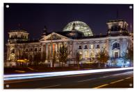 The Reichstag in Berlin, Acrylic Print