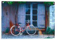 French Cycle, Acrylic Print