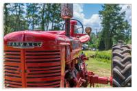 Front of Farmall Tractor, Acrylic Print