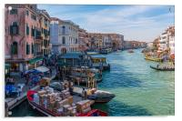 Grand Canal Around the Bend, Acrylic Print