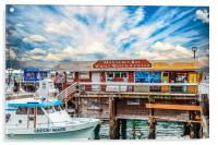 Monterey Bay Whale Watching Center, Acrylic Print
